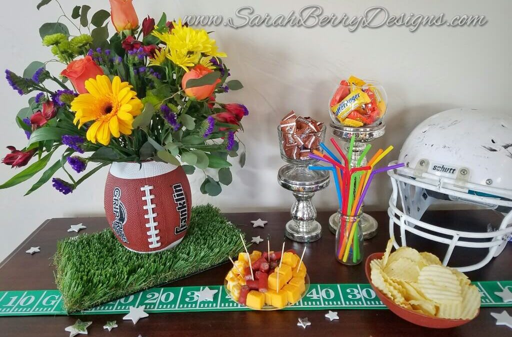 How to Make a Football Vase