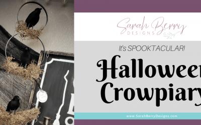 Spooktacular Halloween Crowpiary