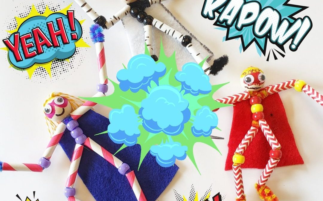 Epic Pipe Cleaner Super Heroes!